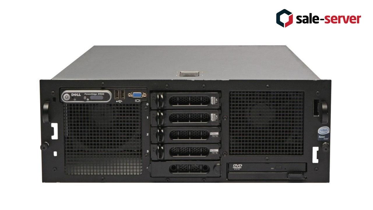 DELL PowerEdge R900 5xLFF / 4 x E7330 / 128GB / PERC 6/i / 2x1570W