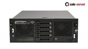 DELL PowerEdge R900 5xLFF / 4 x E7350 / 128GB / PERC 6/i / 2x1570W