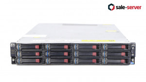 HP ProLiant DL180se G6 12LFF + 1 (1 процессор) / X5670 / 48GB / P410 1GB / 2 x 750W