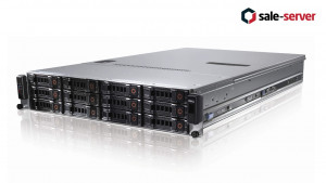 DELL PowerEdge C2100 FS12-TY 12xLFF 2xE5620 / 48G / H700 512MB / 2x750W