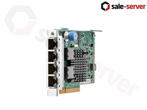 HP Ethernet 1Gb 4-port 366FLR адаптер
