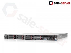 HP ProLiant DL360 G7 8xSFF / 2 x E5620 / 6 x 4GB / P410i / 2 x 460W