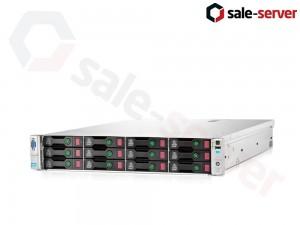 HP ProLiant DL380e Gen8 12xLFF / 2 x E5-2440 / 10 x 8GB / P420 512MB / 750W