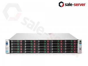 HP ProLiant DL380e Gen8 25xSFF / 2 x E5-2407 / 2 x 4GB / P410 1GB / 460W