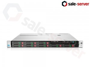 HP ProLiant DL360p Gen8 8xSFF / 2 x E5-2660 / 6 x 4GB / P420i 512MB / 460W / SFP+