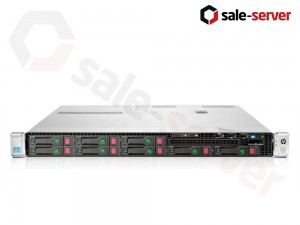 HP ProLiant DL360p Gen8 8xSFF / 2 x E5-2640v2 / 6 x 8GB / P420i 512MB / 2 x 460W / SFP+