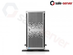 HP ProLiant ML350p Gen8 8xSFF / 2 x E5-2680 v2 / 6 x 16GB / P420i 1GB / 750W