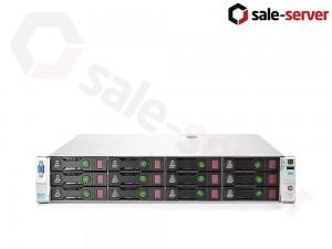 HP ProLiant DL380p Gen8 12xLFF / 2 x E5-2697 v2 / 12 x 16GB / P420i 2GB / 2 x 750W / SFP+