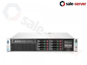 HP ProLiant DL380p Gen8 8xSFF / 2 x E5-2660 / 8 x 4GB / P420i 512MB / 460W / SFP+