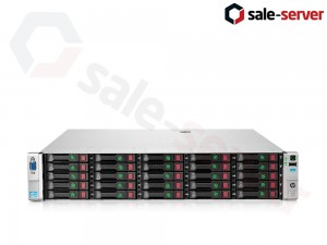 HP ProLiant DL380p Gen8 25xSFF / 2 x E5-2690 v2 / 4 x 16GB / P420i 2GB / 2 x 750W / SFP+