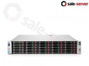 HP ProLiant DL380p Gen8 25xSFF / 2 x E5-2697 v2 / 8 x 16GB / P420i 2GB / 2 x 750W / SFP+