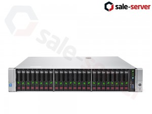 HP ProLiant DL380 Gen9 24xSFF / 2 x E5-2670 v3 / 12 x 16GB 2133P / P440ar 2GB / 800W