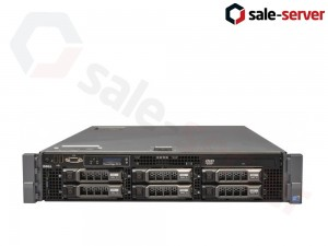 DELL PowerEdge R710 6xLFF (1 процессор) / X5650 / 2 x 8GB / DELL PERC 6i / 2 x 570W