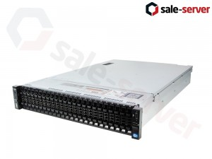 DELL PowerEgde R720xd 26xSFF / 2 x E5-2697 v2 / 12 x 16GB / H710p Mini 1GB / 2 x 750W