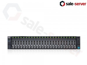 DELL PowerEdge R730xd 24xSFF / 2 x E5-2640 v3 / 8 x 16GB 2133P / H330 Mini / 750W