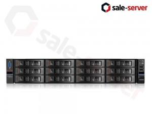 IBM Lenovo System X3650 M5 14xLFF / 2 x E5-2670 v3 / 6 x 16GB 2133P / M5210 2GB / 2 x 900W