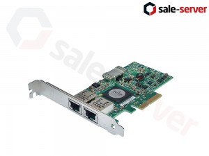 DELL F169G / G218C / 0FCGN Dual port 1Gbps Ethernet адаптер