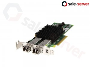 DELL R7WP7 LPE12002 Dual-port FC SFP+ адаптер