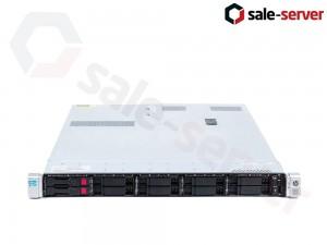 HP ProLiant DL360p Gen8 10xSFF / 2 x E5-2690 v2 / 8 x 16GB / P420i 2GB / 2 x 750W / SFP+