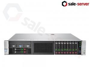 HP ProLiant DL380 Gen9 10xSFF / 2 x E5-2680 v3 / 8 x 16GB 2133P / P440ar 2GB / 800W