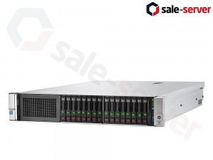 HP ProLiant DL380 Gen9 16xSFF / 2 x E5-2680 v3 / 4 x 16GB 2133P / P440ar 2GB / 800W