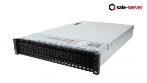 DELL PowerEgde R720xd 24xSFF / 2 x E5-2680 v2 / 4 x 16GB / H710p Mini 1GB / 2 x 750W