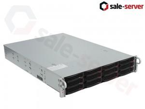 Supermicro SuperStorage 6028R-E1CR12L 12xLFF + 2xSFF / 2 x E5-2640 v3 / 2 x 16GB 2133P / 2x 10GBase-T / AOC-S3008L-L8E / 2 x 920W