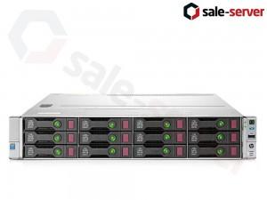 HP ProLiant DL80 Gen9 12xLFF / 2 x E5-2630 v3 / 3 x 16GB 2133P / B140i / 900W